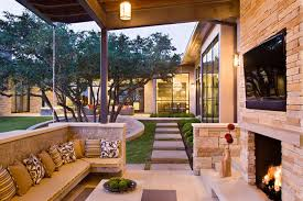 spanish patio and courtyard ideas for