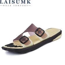 <b>LAISUMK</b> Men Flips Flops Summer Massage Shoes Fashion ...