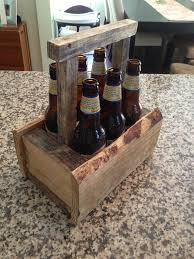 pallet home brew six pack beer caddy cerveza