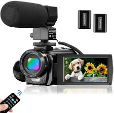 Amazon.com : Video Camera Camcorder for YouTube, Aasonida Digital Vlogging  Camera FHD 1080P 30FPS 24MP 16X Digital Zoom 3.0 Inch 270° Rotation Screen  Video Recorder with Microphone, Remote Control, 2 Batteries : Electronics