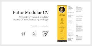 Iwork Pages Resume Templates Apple Top Free Cv Template Mac Vozmitut