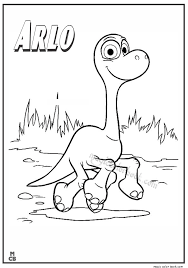 Small Picture Good Dinosaur Coloring Pages arlo