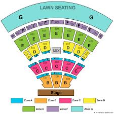 Live Nation Darien Lake Seating Chart Darien Lake Performing Arts Center Seating Chart