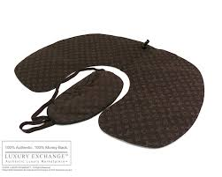 louis vuitton mask. authentic louis vuitton eye mask \u0026 pillow travel set - brand new w