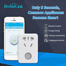 Ổ Cắm Wifi Broadlink SP Mini 3 Bật Tắt Thiết Bị Điện Từ Xa