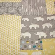 Shop Modern Baby Boy Quilts on Wanelo & Elephant baby quilt-Organic baby quilt-Modern baby quilt-boy or girl quilt Adamdwight.com