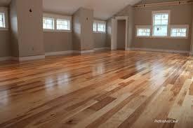 Hickory flooring in the bedroom: American Scrape Hardwood -  NorthernTwilight - EAS513