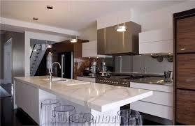 calacatta gold marble countertop kitchen island top