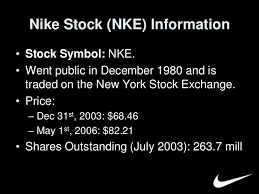 Nike Stock Quote Mesmerizing Nike Final
