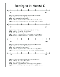 Grade Math Worksheets Rounding To The For Decimals Common Core Free ...