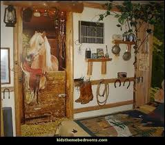 Horse Stable Wall Mural Horse Barn Wall_mural Horse_bedding_girls Horse  Theme Bedroom Decorating Ideas