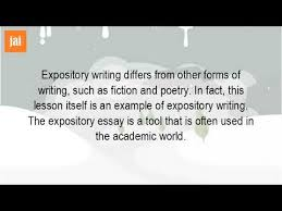 what is expository in literature  what is expository in literature