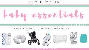 baby item checklist baby essentials list simplified motherhood