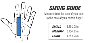 Gymnastic Grips Size Chart Leather Gymnastic Grips