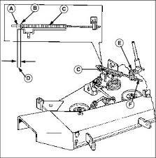 service mower adjusting mower belt tension