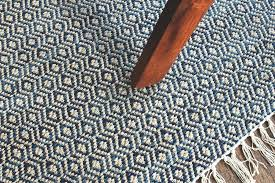 blue patterned rug hand woven 4 x 6 blue diamond patterned rug style blue and white