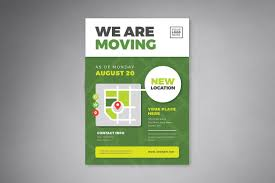 Moving Flyer Template We Are Moving Flyer Templates Cmyk Size Dpi Ai Flyer