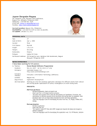 Update Resume In Jobstreet Resume For Study