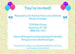 Sample Party Invite 56 Sample Birthday Invitation Templates Psd Ai Word Free