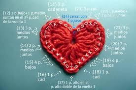 Crochet Heart Pattern Free Awesome 48 Free Easy Crochet Heart Patterns