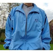 Light Blue Nike Jacket Vintage Light Blue Nike Track Jacket