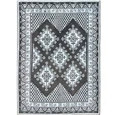 black and white moroccan rug geometric design vintage tribal rug with black and gray for black and white moroccan rug uk