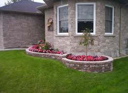 Small Picture Front yard shrub bed landscaping small house Front Yard Garden