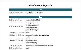 Ministry Meeting Agenda Template The 15 Best Meeting Agenda Templates For Microsoft Word