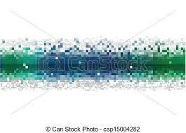 Abstract Data Stream Vector Vector Search Clip Art Illustration