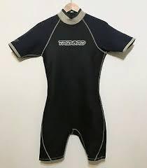 Men Shorty Wetsuit Size Medium