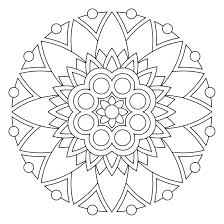 Ideas Mandala Coloring Pages Online Or Intricate Coloring Mandala