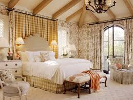 Bedroom Cream Country Style Bedroom Decorating