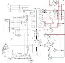 samsung circuit diagram the wiring diagram samsung cl29x50 power supply smps schematic circuit diagram circuit diagram