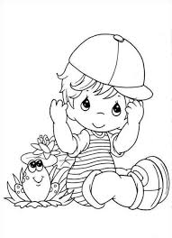 Small Picture Well Suited Ideas Baby Boy Coloring Pages Free Printable Baby