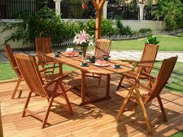 teak patio furniture Teak Patio Table Sets