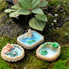 fairy garden miniatures. Exellent Miniatures Miniature Pool Resin Micro Landscaping Decoration Sand Table DIY  Accessories Fairy Garden Miniatures Ornaments High Quality Or China  Throughout R