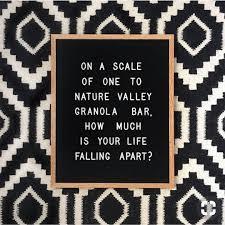 Obsessories La Current Mood Nature Valley Granola Bar