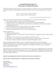 Resident Assistant Job Description Resume Resident Assistant Sample All Photoshot 24 Best Of Cover 14