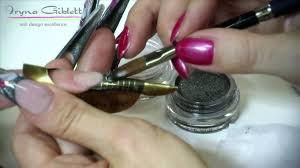 How To Make: Perfect Stiletto Nails with 3D acrylic nail art - YouTube