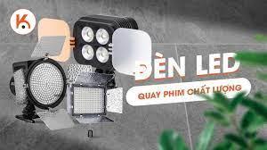Gợi ý một số mẫu đèn led quay phim chất lượng đáng mua nhất 2021