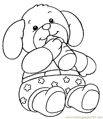 Small Picture Teddy Bear Coloring Page 001 5 Coloring Page Free Others