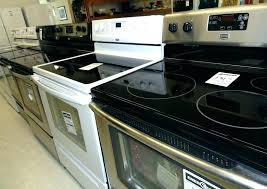 glass stove top replacement full size of how to clean black burner frigidaire oven element sto