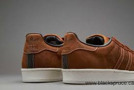 canada 2016 adidas originals superstar rt waxed leather mens shoes mens shoes dust rust