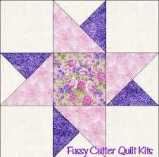 Scrappy Fabric Friendship Star Easy To Make Pre-Cut Quilt Blocks ... & Scrappy Fabric Friendship Star Easy To Make Pre-Cut Quilt Blocks Top Kit Adamdwight.com