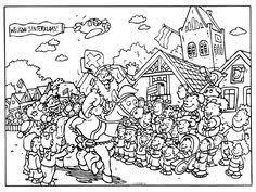 Kleurplaten Sinterklaas Moeilijk Brekelmansadviesgroep