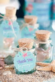 sea glass mini bottles