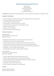Data Specialist Resume Resume Online Builder