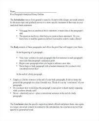 writing an essay outline examples analytical essay outline  writing an essay outline examples analytical essay outline analytical essay example writing essay outline examples