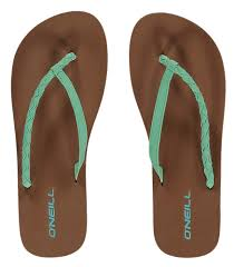 Oneill Shoes Size Chart O Neill Queen Flip Flops Brook