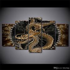 2018 canvas pictures home decor chinese dragon paintings hd prints poster living room wall art framework from kittyfang 36 06 dhgate com on chinese dragon metal wall art with 2018 canvas pictures home decor chinese dragon paintings hd prints